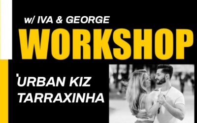 Su. 12.07 – Urban Kiz & Tarraxinha Workshop w/ Iva & George