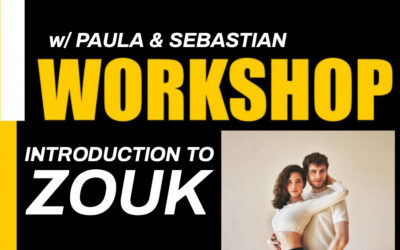 Su. 19.07 – Introduction to ZOUK (for Salsa/Bachata/Kizomba Dancers)
