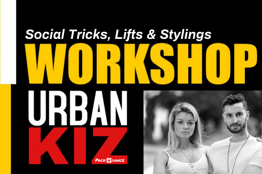Su. 18.10, 17:00-19:00 Workshop: Urban Kiz Social Tricks, Lifts and Stylings w/ Iva & George