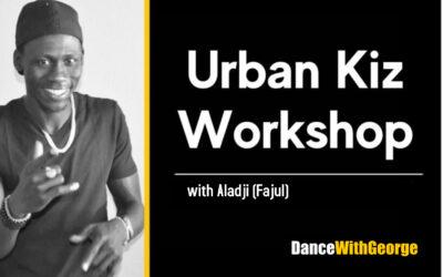 Saturday 24.07 – 17:00-19:00 Urban Kiz Workshop w/Aladji (Fajul)