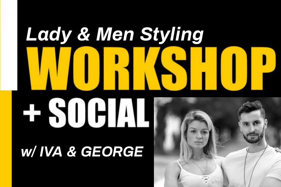 UrbanKiz Lady/Men Styling together workshop – Limited spots