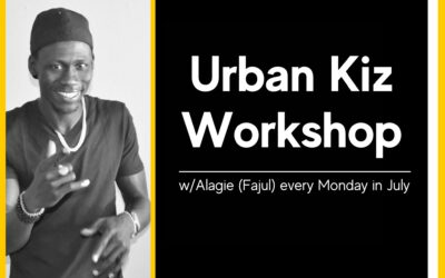 Urban Kiz Workshop w/Alagie (Fajul) every Monday in July